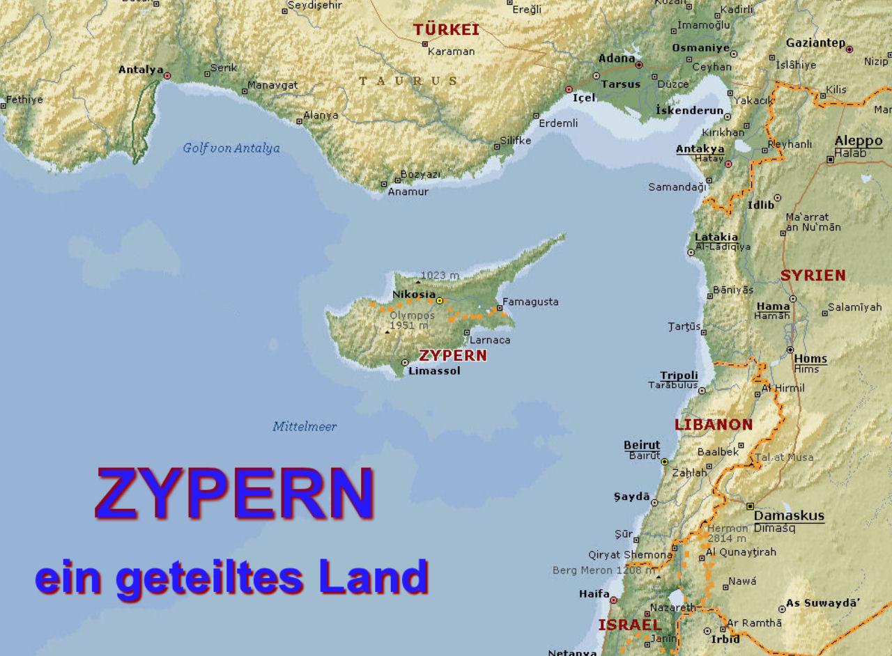 Multimediaschau Zypern