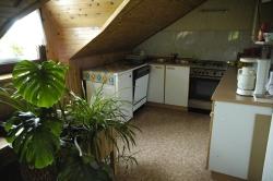 Gästeküche im Strle-Bauernhaus, Osredek