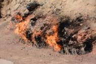 Brennende Gasquellen
