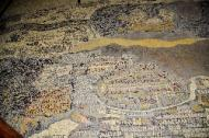 Madaba: Palästina-Mosaik
