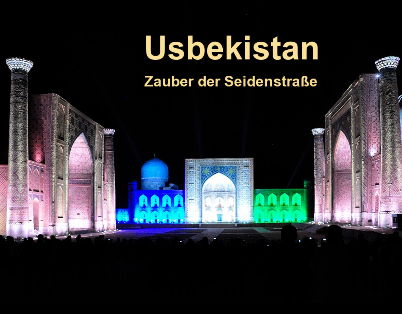 Multimediaschau Usbekistan